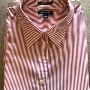 Land's End No Iron PinPoint Oxford